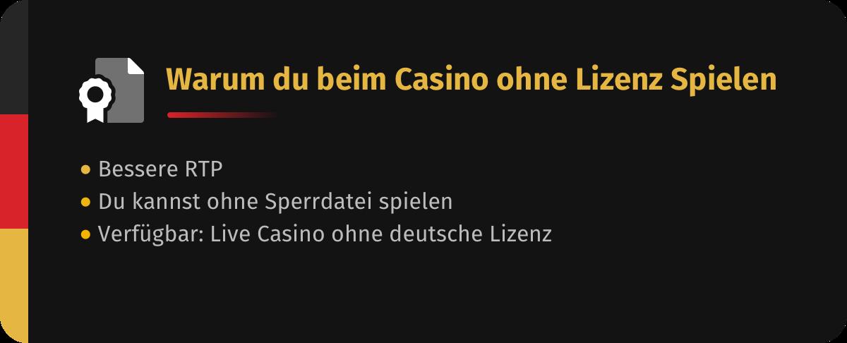warum du beim casino ohne sperrdatei spielen